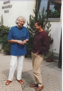 Sheich Bashir Dultz (l). Geistlicher Leiter der deutschen Suffigemeinschaft.