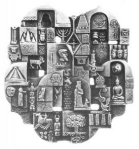 Religionplatte