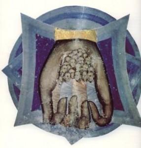 Die Seelen der Martyrer in Gottes Hand. Bild aus der serbo-orthodoxen Traiditon. Das Bild wurde über TinEye überprüft. Autorenrechte wurden nicht festgestellt.