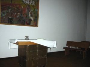 Der leere Altar