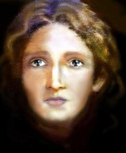 Computerbild des zwölfjährigen Jesus.