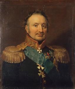 General Pjotr Christianowitsch Wittgenstein (russisch). Graf Ludwig-Adolph-Peter zu Sayn-Wittgenstein-Berleburg (deutsch). Gemalt 1820 von George Dawe.