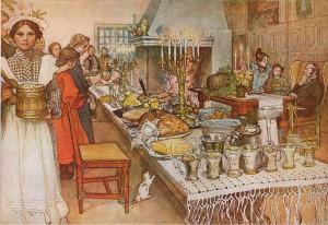 Am Weihnachtsabend. Carl Larsson 1904 Wikipedia